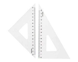 78597 ニューアクリル三角定規18cm【アーテック】