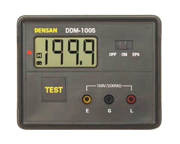DDM-100S デジタル絶縁抵抗計【ジェフコム】