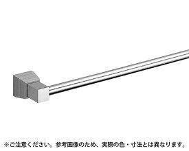 BT-114 ラックスタオル掛600ミリクローム/黒ウッド【シロクマ】