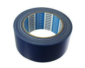 7562カラー布粘着テープS50ミリX25M 青(0.23ミリ厚)