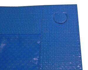 軽量・長持ち UVブルーシート2年タイプ 2.7X3.6m(実寸サイズ)【まつうら工業】