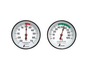 シンワ・温度計・湿度計セット・ST−472674【藤原産業】