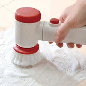 パワフル電動ブラシ 大掃除 らくらく 風呂掃除 タイル掃除 電池式