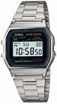 カシオ デジタル腕時計スタンダードウォッチ【メール便】送料無料【代引不可】国内正規品 CASIO〔カシオ〕メンズ 【A158WA-1JF】【D】【HD】 [CAWT]