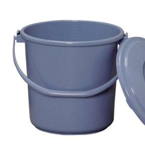 【5L】丸型バケツ PB-5 ブルー【アイリスオーヤマ】