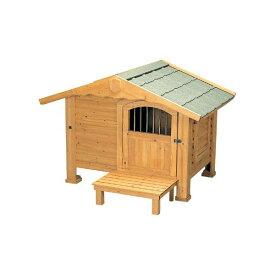 【犬小屋・大型犬】ロッジ犬舎 RK-1100 ブラウン【アイリスオーヤマ】【送料無料】