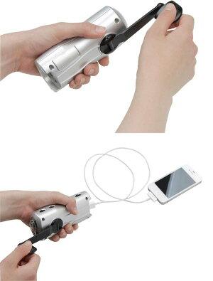 手回し充電ラジオライトJTL-23非常時災害時アウトドア多機能ラジオライト携帯充電アイリスオーヤマ[cpir]