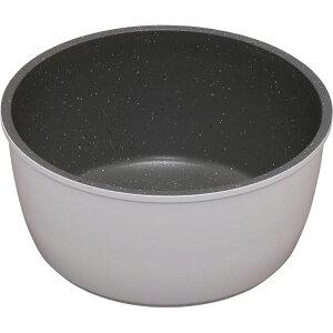 ダイヤモンドコートパン 鍋 18cm IH対応 ISN-P18 ホワイト&マーブル KITCHEN CHEF フライパン 鍋 キッチンシェフ セット コーティング ダイヤモンドコート ダイヤモンドコーティング 焦げ付かない