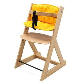 いす イス 椅子 チェア 木製ハイチェア+クッションセット 送料無料 ベビーチェア キッズチェア 木製 ハイチェア チェア 赤ちゃん 椅子 全6種【D】 新生活