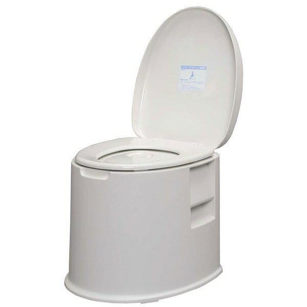 ポータブルトイレ TP-420Vホワイト【アイリスオーヤマ】(トイレ用品・介護用品)【送料無料】
