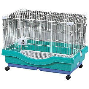 小動物快適ケージ RU-800 パステルグリーン【アイリスオーヤマ】(ご家庭、ご家族のハムスターリスに・ペット用品・小さいサイズ・小屋・小型)【送料無料】