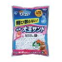 5袋セット 猫砂 1週間取り替えいらずネコトイレ用 大玉脱臭サンド 4L TIO-4L アイリスオーヤマ
