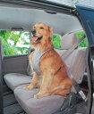 ペットセーフティハーネスPDH-Lグレー(Lサイズ)【アイリスオーヤマ】(ご家庭、ご家族の愛犬の安全に・ペット用品・車…