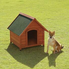 リッチェル 木製犬舎 700 送料無料 犬 犬舎 木製 ハウス 犬ハウス 犬舎木製 ハウス犬 木製犬舎 【D】