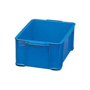 BOXコンテナB-32 ブルー・クリア・★イエロー【アイリスオーヤマ】(収納用品・収納ケース・ボックス) 新生活