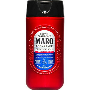 【在庫限り】MARO 全身用クレンジングソープ ミニボトル ボディソープ ボディケア 全身用 石けん ボディウォッシュ ストーリア 【D】【B】