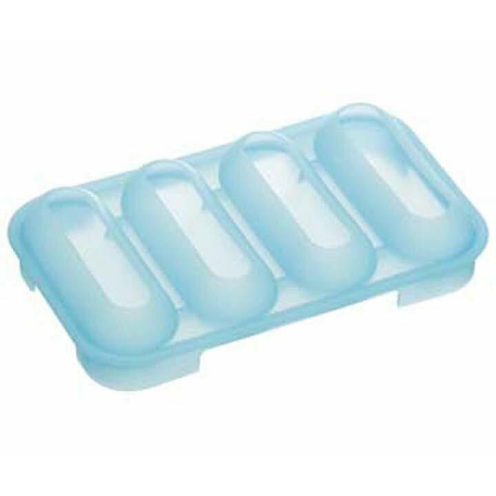 シリコーンステンレスボトル用アイストレー4本用 SLIT7氷 こおり 水筒 飲み物 スケーター 【D】