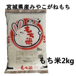 【令和2年産】もち米 餅米 宮城県産みやこがねもち 2kg 粘り 宮城産 もちごめ【メーカー直送】【TD】【米TRS】