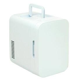 ポータブル 電子式 保冷保温ボックス 白 KAJ-R055R-W送料無料 冷蔵庫 保温庫 冷温庫 ポータブル 電子式 取っ手付き 静音設計 室内 自動車 オーム電機 【D】