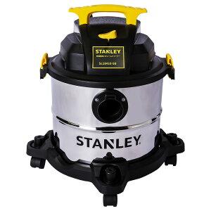 スタンレーバキュームクリーナー乾湿両用掃除機クリーナーブロアブロアー工業用業務用家庭用一般家庭キャスター置き型キャニスタ—StanleySL184105Gallon4HPProStainlessSteelSeriesWetandDryVacuumCleaner