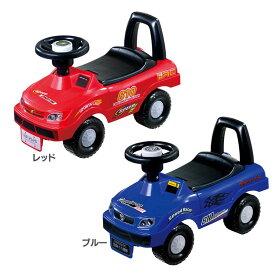 キッズスポーツカー 送料無料 乗り物 キッズカー 乗物 車 くるま クルマ 遊具 おもちゃ 玩具 永和 レッド ブルー【D】