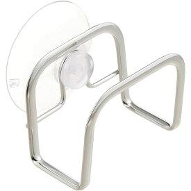 キッチン スポンジ ホルダー ステンレス スポンジ入れ 吸盤 清潔感 高級感 シンプル スポンジキャッチ OS-17日本製 【D】