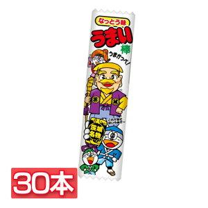 【30本】やおきん うまい棒なっとう味 子供会 うまい棒 駄菓子 こども おやつ 棒 納豆 大人買い お祭り やおきん 【D】