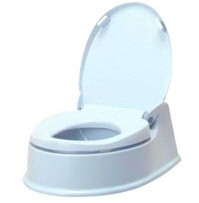 アロン化成 サニタリエースHG両用式 簡易設置トイレ ライトブルー
