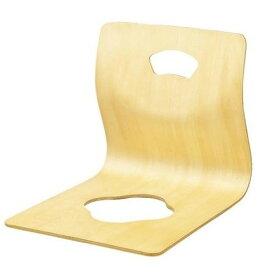 弘益 木製曲げ木座椅子GZ-395 ナチュラル 【 1個 】