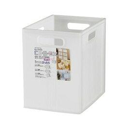 ヒマラヤ キューBOXスリム 深型 クリアホワイト 【カラーBOX用インナーケース】【幅19.5×奥26×高26cm】
