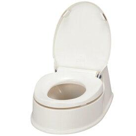 アロン化成 サニタリエースHG両用式 簡易設置トイレ アイボリー