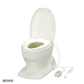 アロン化成 サニタリエースOD 暖房便座 簡易設置トイレ 据置式 アイボリー