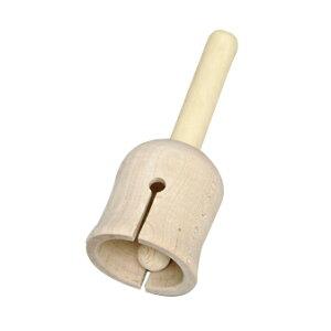 森のハンドベル | 日本製 木のおもちゃ 木製 木 玩具 遊ぶ 可愛い リズム楽器 ハンドベル ミュージックベル ガラガラ 音楽楽器 楽器 打楽器 パーカッション 知育玩具 簡単 初心者 チャーム 楽