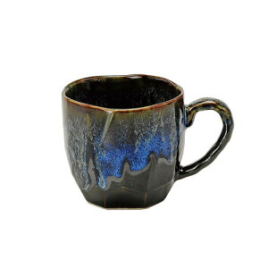 均窯流し マグカップ  マグカップ マグカップ/食器/和食器/陶器/和風/緑茶/お茶/日本茶/美濃焼/おしゃれ/かわいい/コーヒー/紅茶/ハーブティー