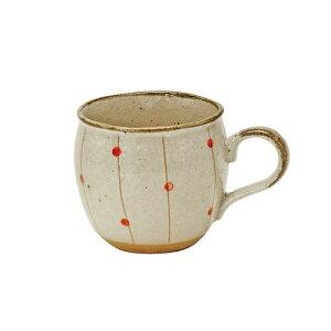 しだれ水玉 しずくマグカップ マグカップ/食器/和食器/陶器/和風/緑茶/お茶/日本茶/美濃焼/おしゃれ/かわいい/コーヒー/紅茶/ハーブティー