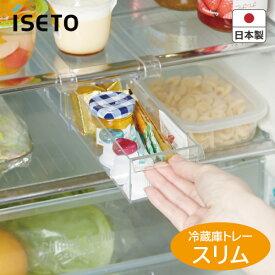 イセトー 収納【冷蔵庫】I-532 冷蔵庫トレー スリム アイデア収納 日本製 【くらし屋】
