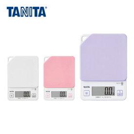 タニタ デジタルクッキングスケール KJ-114 最大1kgまでキッチンスケール はかり フック付き コンパクト 薄型 軽量 お菓子作り TANITA