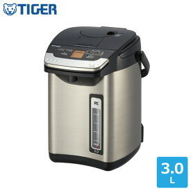 タイガー VE電気ポット とく子さん PIG-J300 K 3.0L送料無料 蒸気レス エコ 日本製 同梱不可