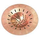 銅製まとまるヘアキャッチャー HCN-CU【送料無料】(※沖縄・離島除く) - 【ヘアキャッチャー】【排水口】【浴室】【お…