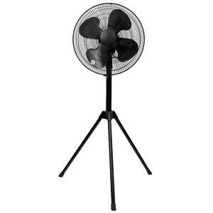 AC工業扇(三脚型) SKJ-S40ACS ブラック - 【工業】【三脚型】【業務用】【扇風機】【折りたたみ】【首振り】【大型扇風機】【夏】