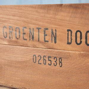 収納木箱『アンティーク風ウッドボックス1個』gd/ポテトボックスワイン木製箱/雑誌の整理本棚什器インテリアシェルフ通販