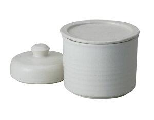 【送料無料】【smtb-kd】信楽焼 漬物鉢 ラジウム鉢「白釉一夜漬鉢(平蓋)」 陶器 焼物 陶芸品【550-02】