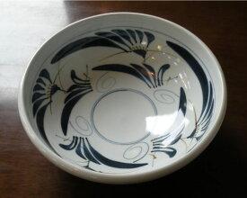 【砥部焼】草文 サラダボール(大) 陶器 皿【陶彩窯】
