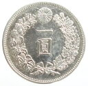 新1円銀貨 明治17年(1884)美品+