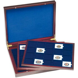 木製コインボックス 50mmX50mm 60枚収納可能 ライトハウス 【コインホルダー用】