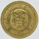 【代引・送料無料】シエラレオネ 独立5周年記念 1/4GOLDE金貨 1966年