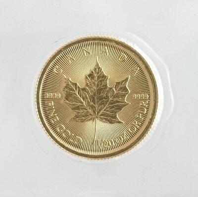 【送料無料】カナダメイプルリーフ 1/20オンス1ドル金貨 2016年