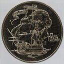 英領ジブラルタル イギリス海軍ネルソン提督没後175周年 クラウン貨 1980年