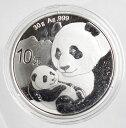 中国 パンダ10元銀貨 1オンス 2019年未使用