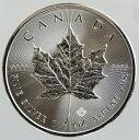 カナダ メイプルリーフ5ドル銀貨 1オンス2017年 未使用